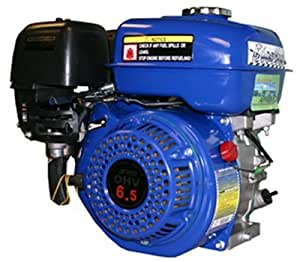 Blue Max GE65B 6.5 HP 4-Stroke Gas Powered Engine Horizontal Shaft