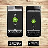 Blaupunkt Smart Home Security Visual Monitoring Set - Alarmanlage Funk IP Sicherheitssystem mit Smartphone App, schwarz, Q3200 -