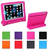 HDE Kids Light Weight Shock Proof Handle Case for iPad Mini / Mini 2 / Mini 3 / Retina (Pink)