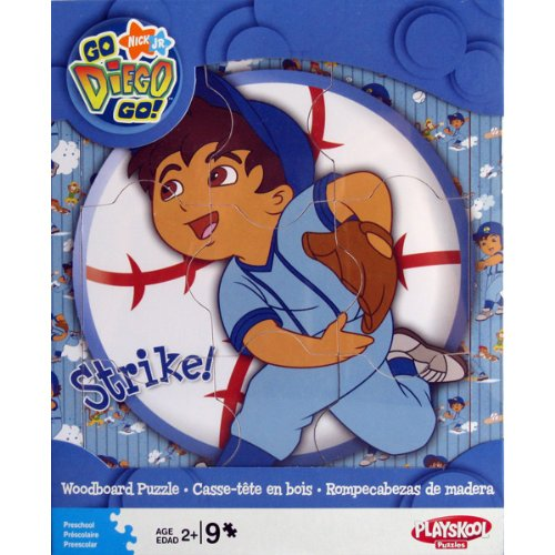 Cheap Hasbro Dora The Explorer – 9 Pc. Woodboard Puzzle (B001ERD4SI)
