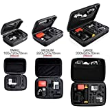 MazeTechno Waterproof Case For Gopro Accessories - ActionCam Carrying Bag (Small)