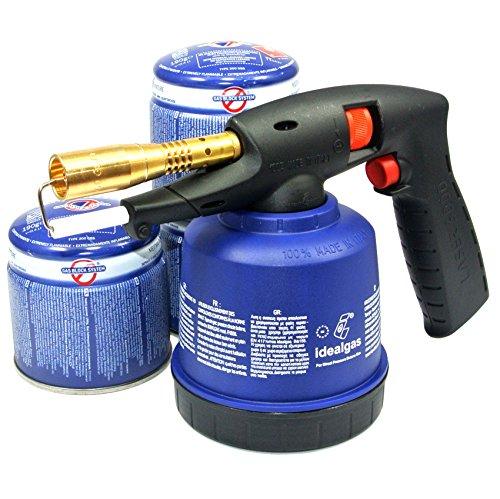 Ltlampe-Ltbrenner-Bunsenbrenner-Piezo-lten-Ltgert-Laser-3000-3-Gas-Kartuschen