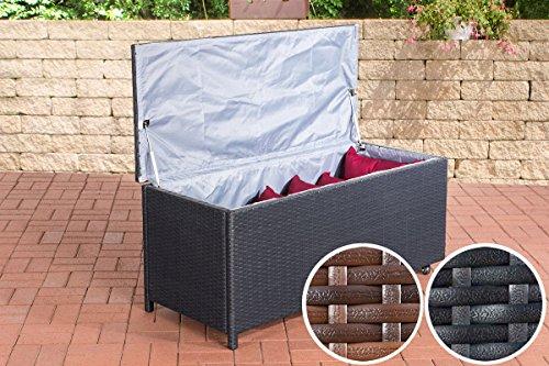 clp poly rattan auflagenbox kudde rattan box f r kissen auflagen bis zu 2 farben 2 gr en. Black Bedroom Furniture Sets. Home Design Ideas