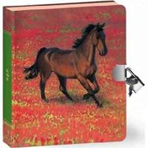 Wild Horse Lock & Key Diary