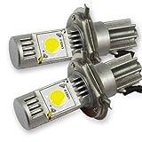 LEDヘッドライト ヘッドランプ LED バルブ 【H4 Hi/Lo 6000K】 CREE社製チップ