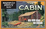 The Cabin: Magnetic Poetry Kit