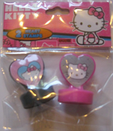 Hello Kitty - Heart Stamps - Pack of 2