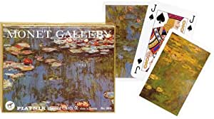 Piatnik Monet Gallery Lilies Bridge Playing Cards