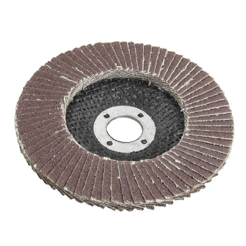 Amico 16mmx100mm 80# Fan Type Abrasive Flap Sanding Discs Buffing Wheels