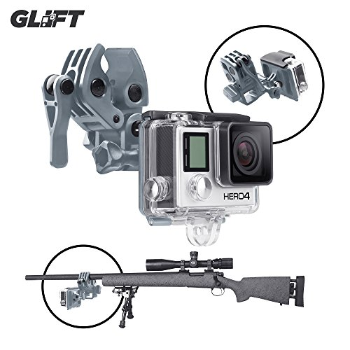 Sportsman mount fixing clip for gun fishing rod bow for Gopro fishing mount