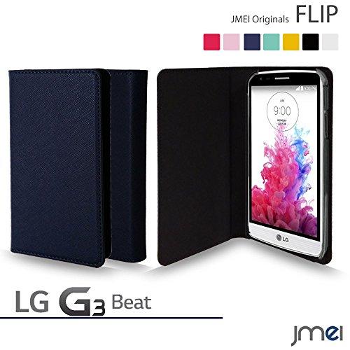 LG G3 Beat ケース LG-D722J JMEIオリジナルフリップケース LG-D722J ネイビー UQ mobile ユーキュー モバイル simフリー スマホ カバー スマホケース LG-D722J スリム スマートフォン