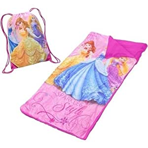 Buy Disney Princess Sleeping Bag And Sackpack Set Online