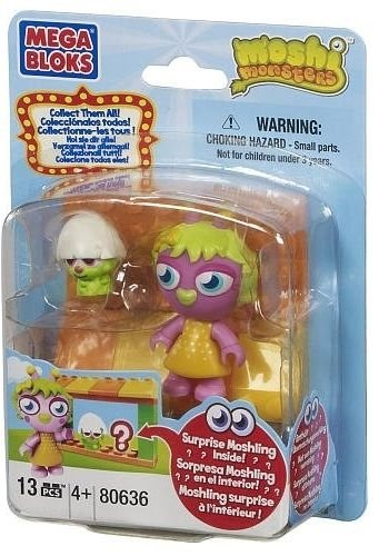 Mega Bloks Moshi Monsters Moshling Zoo and Horrods Shop 80636 - 1