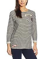 ESPRIT Camiseta Manga Larga (Antracita)