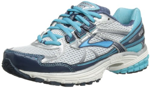 Brooks Womens Adrenaline GTS 13 W Running Shoes 1201231D444 Dark Denim/White/Bachelor Button/Silver/Black 4 UK, 36.5 EU, 6 US Wide