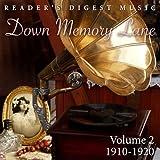 Down Memory Lane, Vol. 2: 1910 - 1920