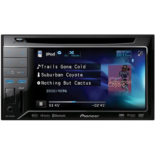Pioneer AVH-P3200BT In-Dash DVD Multimedia AV Receiver