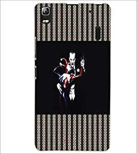 PrintDhaba Funny image D-5074 Back Case Cover for LENOVO A7000 PLUS (Multi-Coloured)