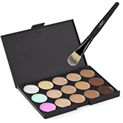 LaRoc 15-Shade Contour Palette with Brush