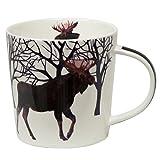 Winter Moose Mug in Gift Box
