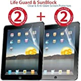 "myGear Products ""The new iPad 3 3rd Generation"" & Apple iPad 2 Screen Protectors 4 PACK Films (2 Clear and 2 Anti-Glare) ~ myGear Products"