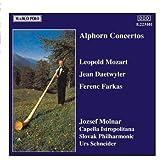 Alphorn Concertos by Urs Schneider (2009-07-24) 【並行輸入品】