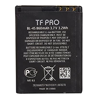 Tfpro-BL--4S-860mAh-Battery-(For-Nokia)