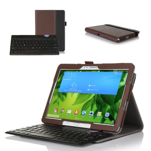 Best Buy! ProCase Premium Folio Bluetooth Keyboard Case for Samsung Galaxy Tab PRO 10.1 Tablet 2014 ...