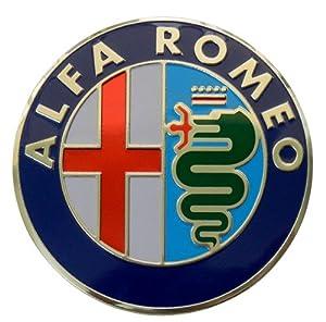 Amazon.com: Alfa Romeo Large Thin Embossed Aluminum Emblem