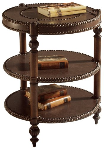 Image of Magnussen Ferndale Wood Round End Table (T1255-05)
