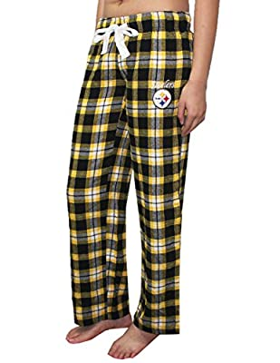 NFL Pittsburgh Steelers WOMENS Fall / Winter Plaid Pajama Pants