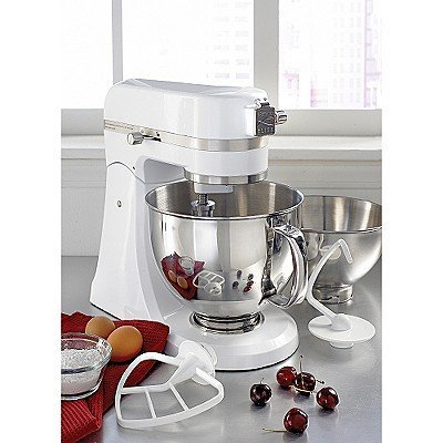 Kenmore Elite 216901-W 5-Quart Stand Mixer 400-Watt - White by Kenmore