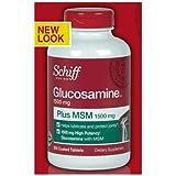 Schiff Glucosamine Plus MSM 1500mg - 200 Coated Tablets