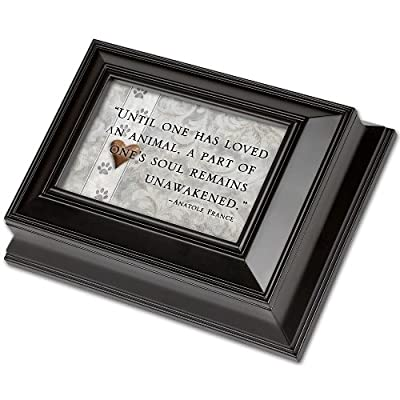 "Pet Loss Keepsake Box ""Until One Has Loved"""