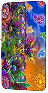 Timpax protective Armor Hard Bumper Back Case Cover. Multicolor printed on 3 Dimensional case with latest & finest graphic design art. Compatible with Sony Xperia E4 Design No : TDZ-25627