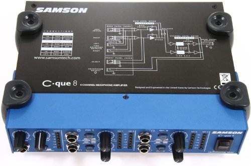 Samson C Que 8 Four Channel Headphone Amplifier