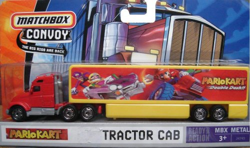 Mattel Matchbox Convoy Red & Yellow Nintendo Mario Kart Tractor Cab Truck Semi 1:64 Scale Die Cast Truck Car - Buy Mattel Matchbox Convoy Red & Yellow Nintendo Mario Kart Tractor Cab Truck Semi 1:64 Scale Die Cast Truck Car - Purchase Mattel Matchbox Convoy Red & Yellow Nintendo Mario Kart Tractor Cab Truck Semi 1:64 Scale Die Cast Truck Car (Matchbox, Toys & Games,Categories,Play Vehicles)