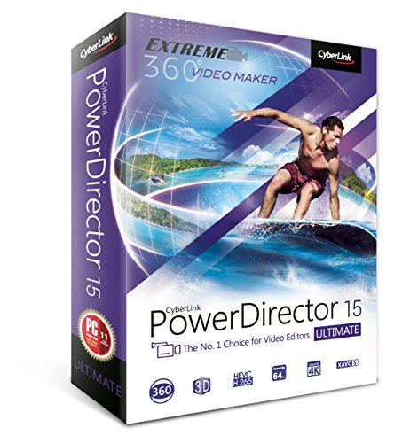 Cyberlink PowerDirector 15 Ultimate (Cyberlink Powerdirector Software compare prices)
