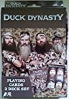 Duck Dynasty Playing Cards 2 Deck Set…