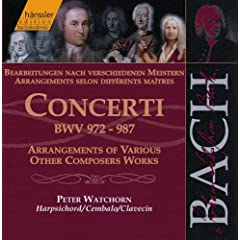 Bach, J.S.: Concerti, Bwv 972-987 (Arrangements of Various Other Composers' Works)