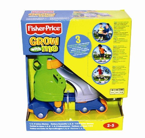 Find Bargain Fisher-Price Grow-With-Me 1,2,3 Inline Skates
