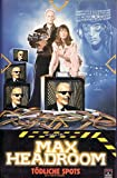 Max Headroom (T�dliche Spots / Skateboard Krieger) [VHS]