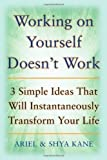 img - for Working on Yourself Doesn't Work: The 3 Simple Ideas That Will Instantaneously Transform Your Life by Ariel and Shya Kane (Sep 5 2008) book / textbook / text book
