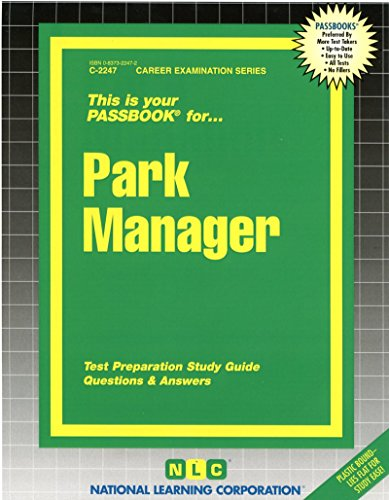 Park Manager (Passbook for Career Opportunities)