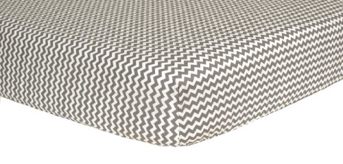 Gray Chevron Baby Bedding 4247 front