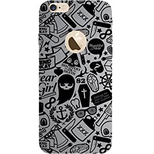 Casotec Discover Or Death Design Hard Back Case Cover for Apple iPhone 6 / 6S