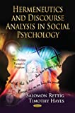 img - for Hermeneutics and Discourse Analysis in Social Psychology (Psychology Research Progress) book / textbook / text book