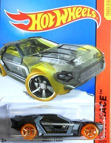Hot Wheels HW Race Bullet Proof 142/250 2015 (Silver Bullet Hot Wheels compare prices)