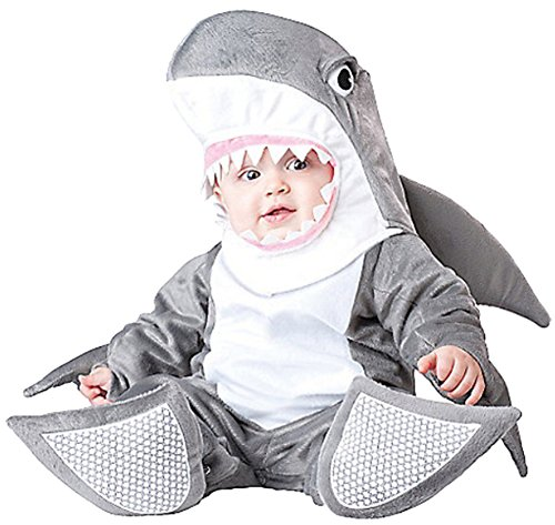 CherWow® Newborn Infant Kids Cosplay Costume Party Rompers Babywear Shark