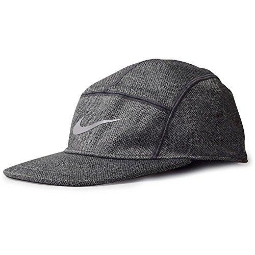 Unisex Heritage Cap: Nike Dri Fit Knit 688719 010 Dry Fit Camp Cap Jet Cap